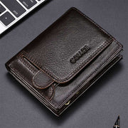 Vintage RFID Genuine Leather Wallet