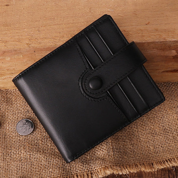 RFID Anti-theft  Vintage Business Short Wallet