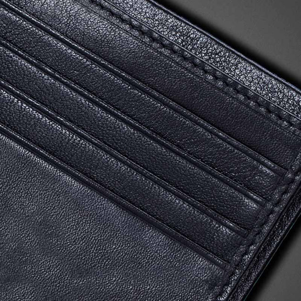 Genuine Leather Large Capacity Wallet