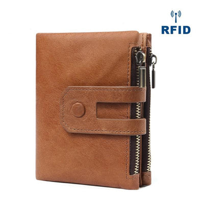 RFID Vintage Card Holder Leather Wallet