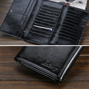 Retro Multi-Card Pocket Wallet