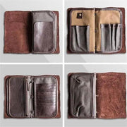 Men Vintage Multifunctional Business Long Wallet(Buy 2 Get 15% Off,CODE:B2)