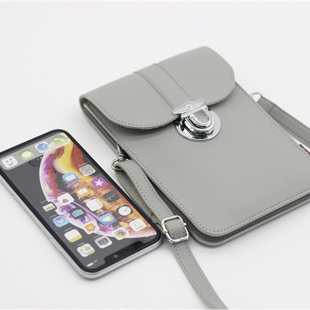 Transparent Mobile Phone Purse