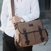 Large Capacity Wear-Resistant Vintage Crossbody Bag