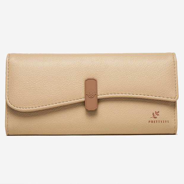 Large Capacity Wallet Elegant Clutch