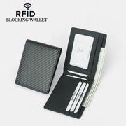 Genuine Leather RFID Blocking Slim Wallet