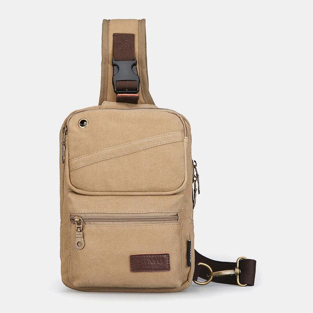 Large Capacity Multi-Purpose Casual Crossbody Bag Chest Bag