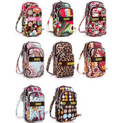 Multi-color Floral Printed Wrist Bag Phone Bag