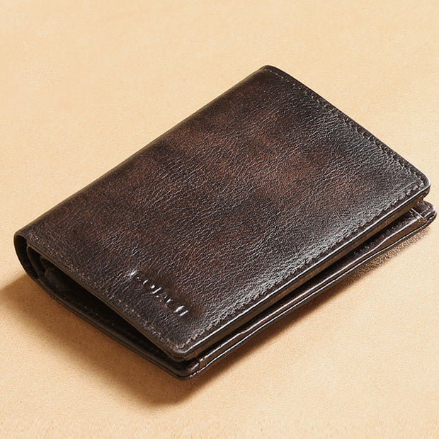 RFID Anti-Theft Multifunctional Leather Wallet