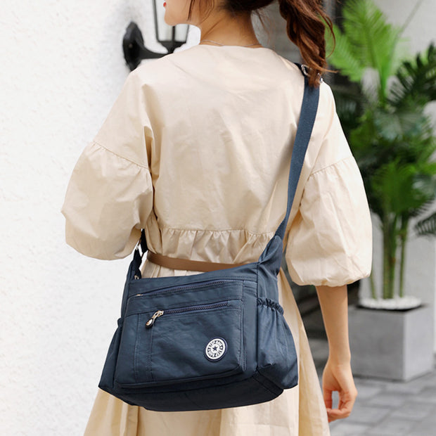 Waterproof Large-Capacity Lightweight Shoulder Bag Crossbody Bag