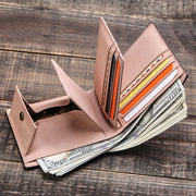 Multifunctional Genuine Leather Wallet