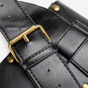 Vintage Rivet Waist Bag Crossbody Bag