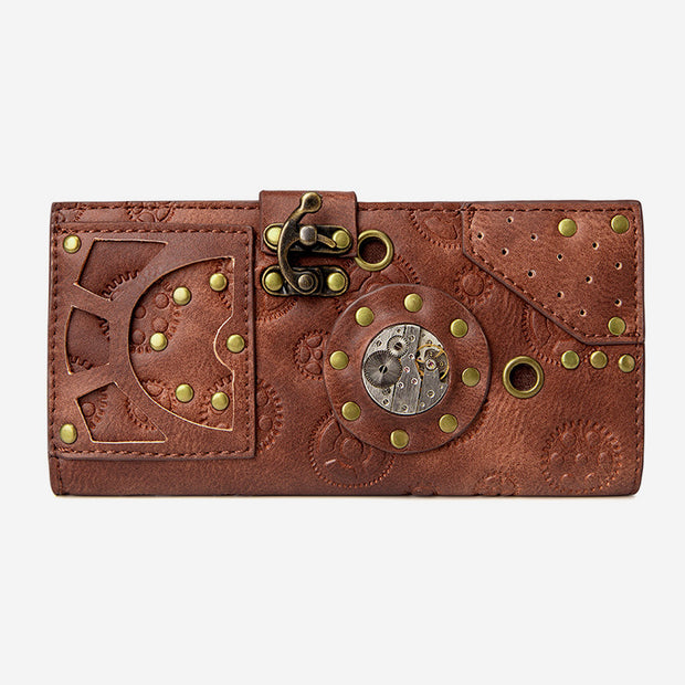 Embossing Punk Vintage Wallet