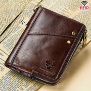 RFID Anti-theft Multi-slot Bifold Wallet
