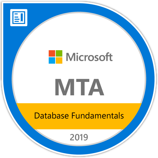 Microsoft MTA Database Fundamentals (98-364) - jrny-training