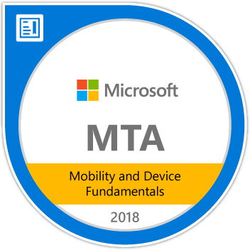 Microsoft MTA Mobility & Devices Fundamentals (98-368) - jrny-training