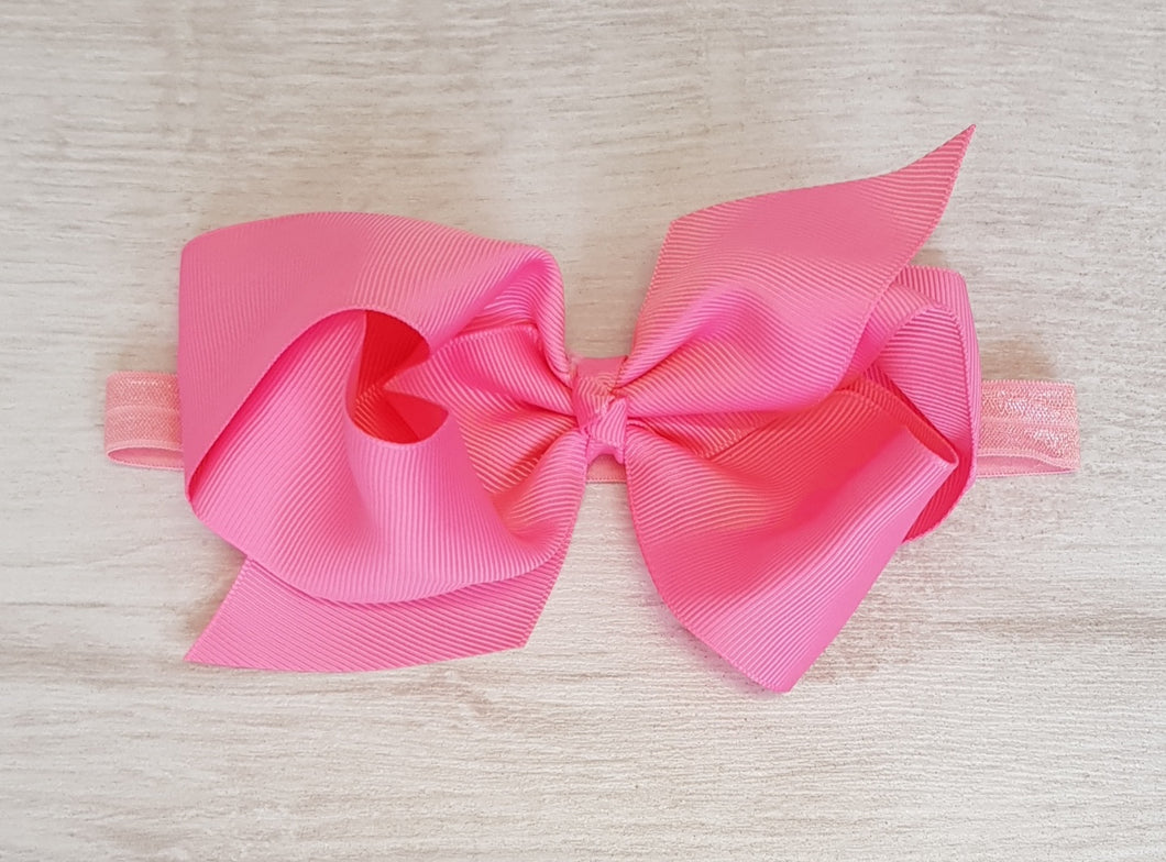 5inch Bubblegum pink hair bow