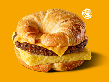 Burger King Launches Meatless Impossible Sausage Croissan'wich