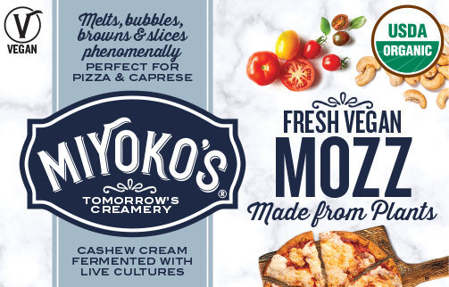 Miyoko's Launches a Vegan Mozz Made for Restaurants