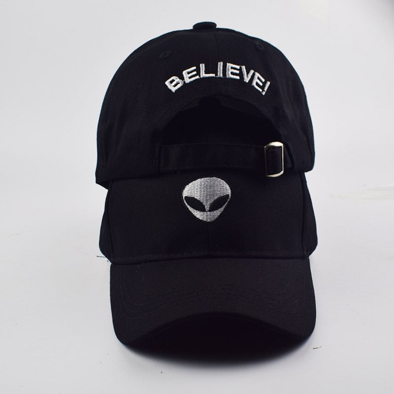 ET / BELIEVE! Embroidered Baseball Cap