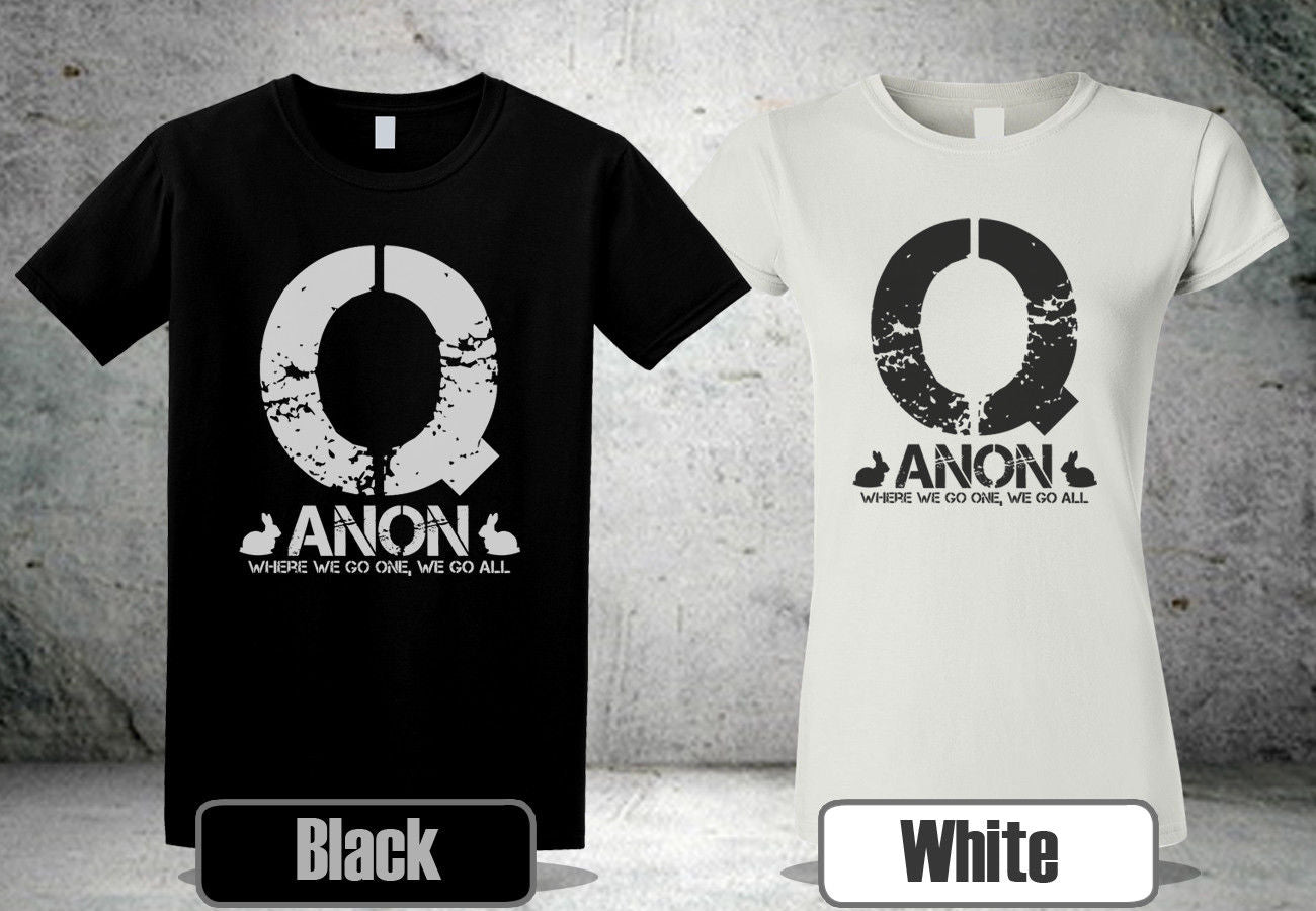 QAnon Where We Go One We Go All T-Shirt
