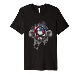 QAnon Q White Rabbit T-Shirt