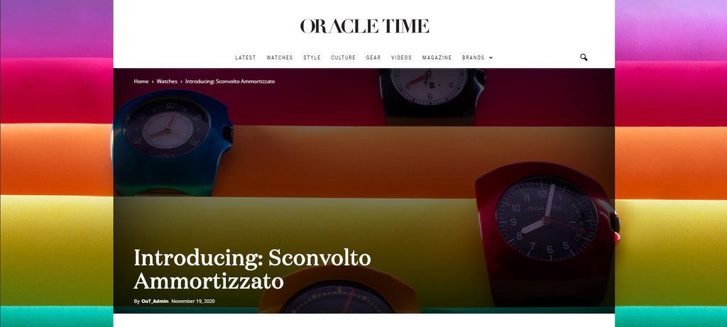 Oracle Time talks about Ammortizzato, Italy and cars