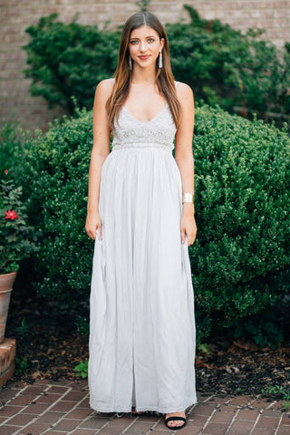 Romantic Reveal Maxi Dress