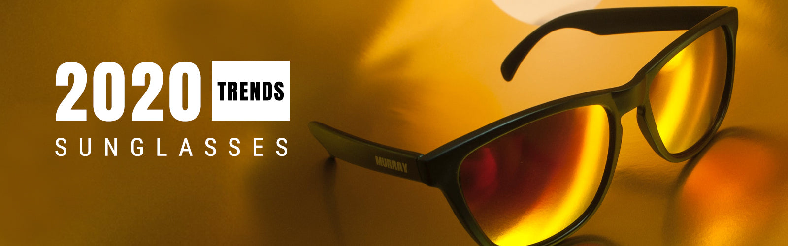 2020 Sunglasses Trends Banner