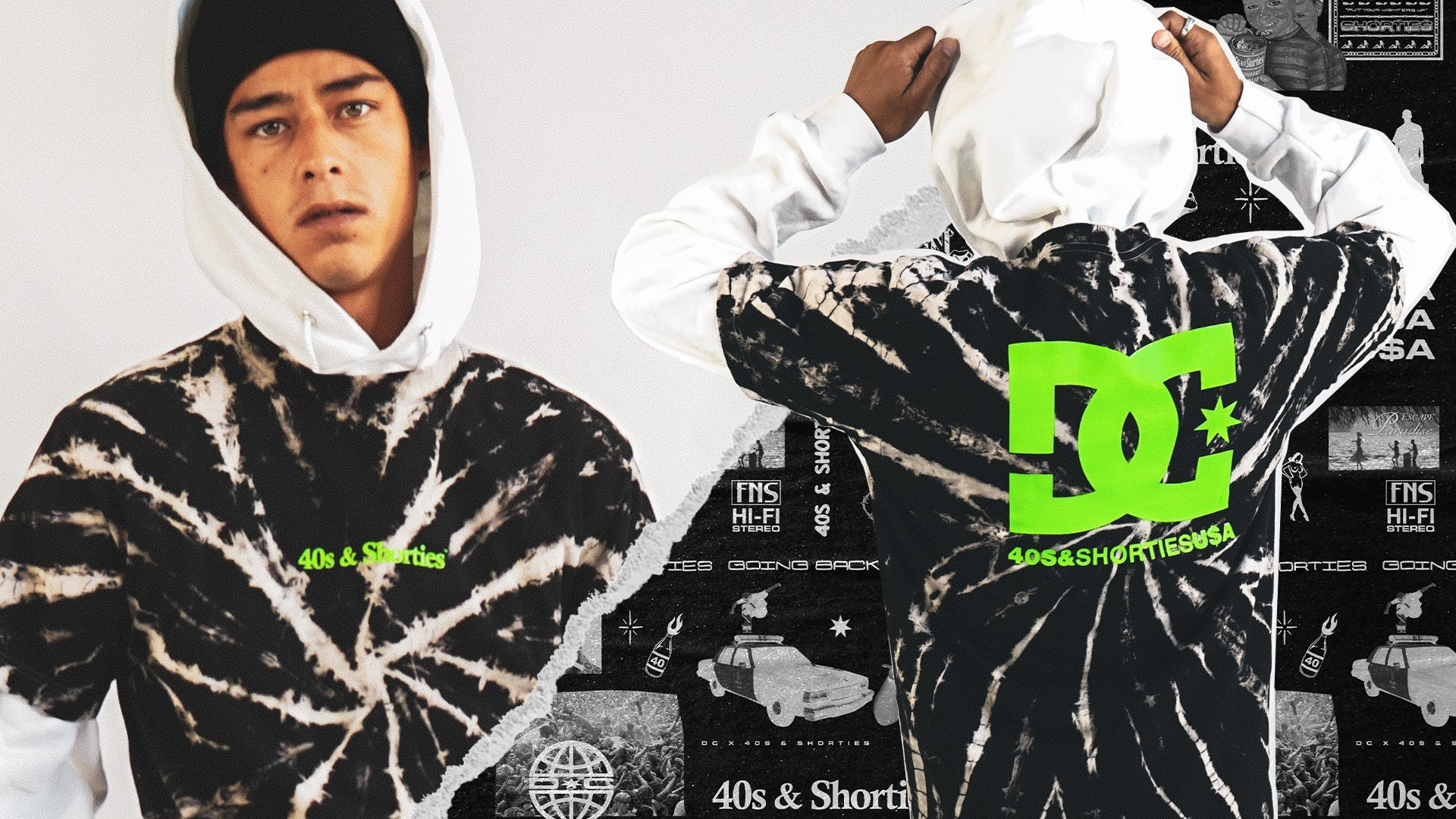 DC Shoes 40s and Shorties Collection