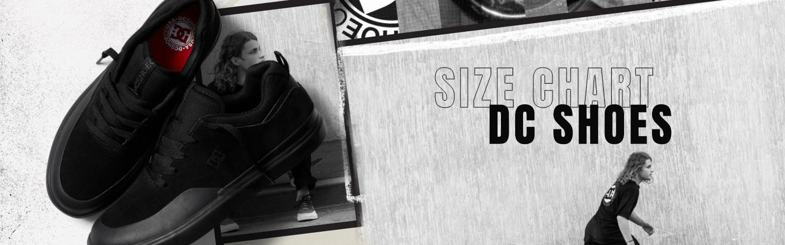 DC Shoes Size Chart