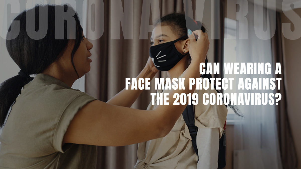 Can wearing a face mask protect against the 2019 coronavirus?