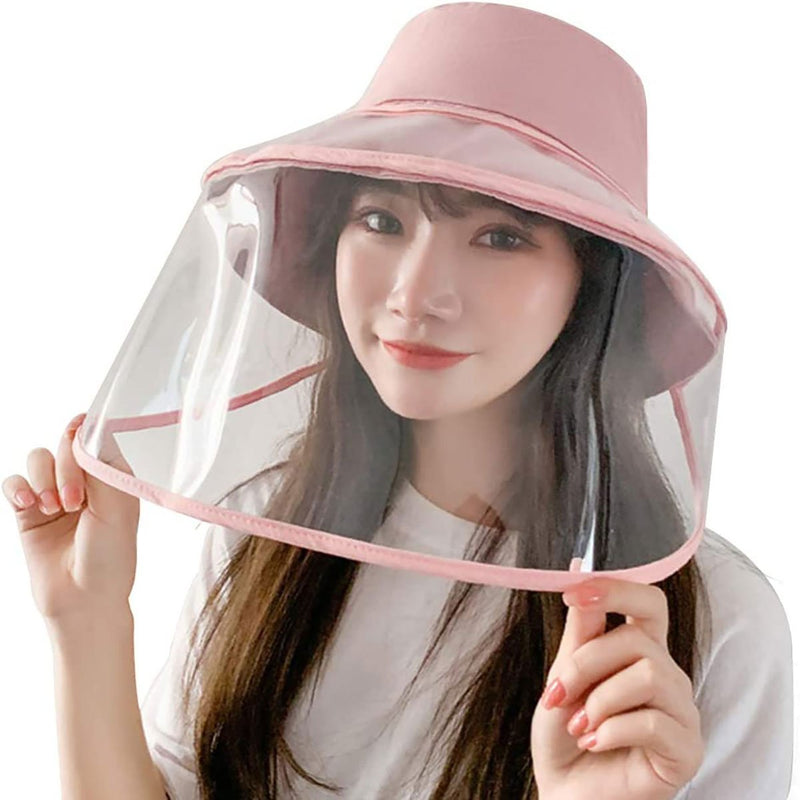 Barbella Full Face Shield Hat Pink
