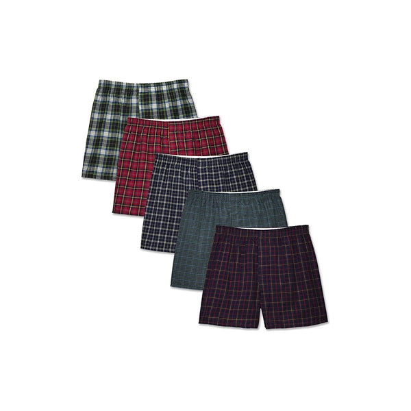 Fruit of the Loom Men's Tag-Free Boxer Shorts