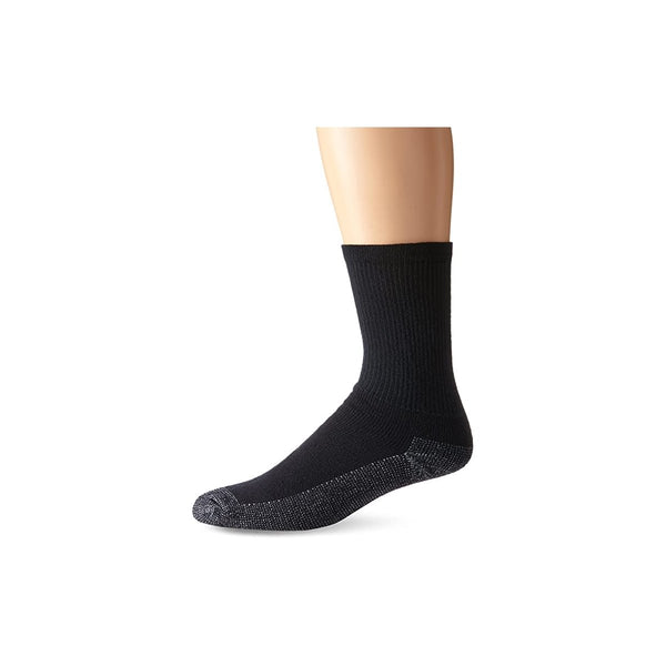 Fruit of the Loom Men's Heavy Duty Reinforced Cushion Full Crew Socks