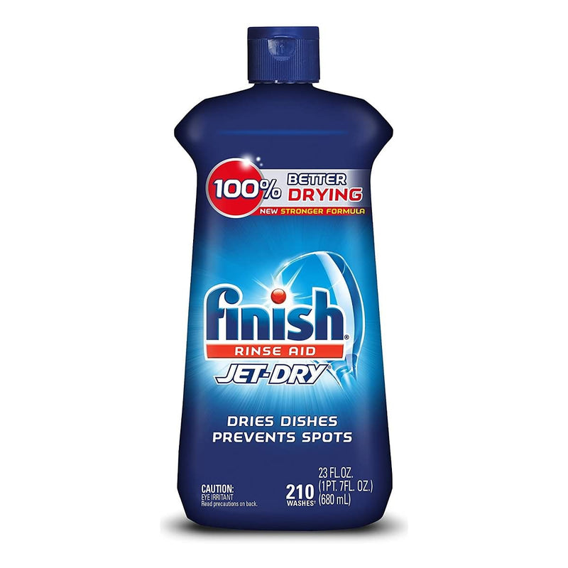 Finish Jet-Dry Aid Dishwasher Rinse Agent & Drying Agent