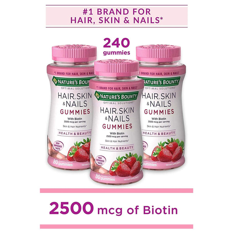 Nature's Bounty Hair Skin and Nails Vitamins