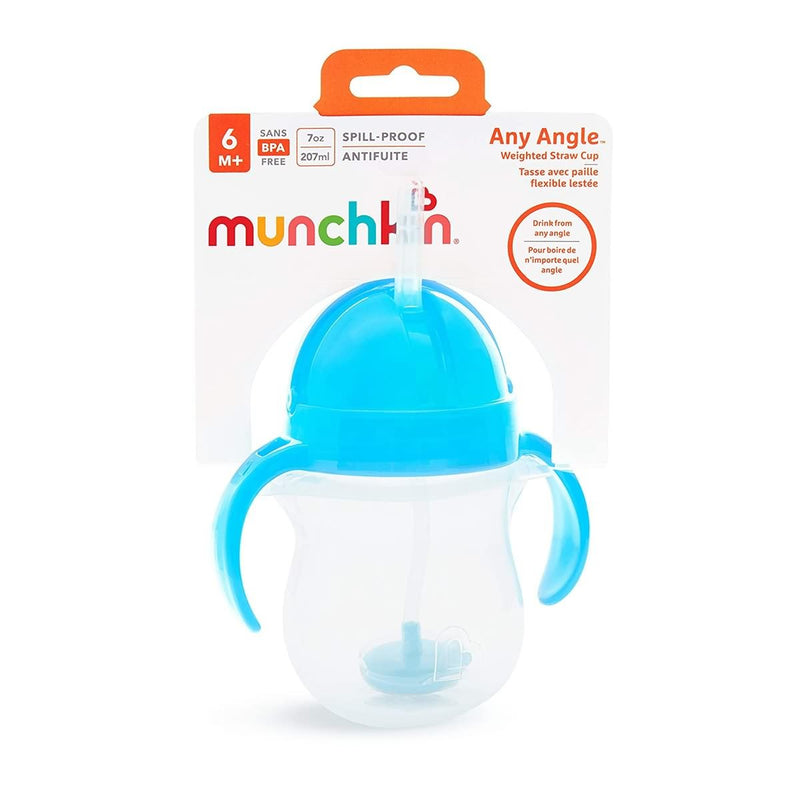 Munchkin Click Lock Weighted Straw Cup
