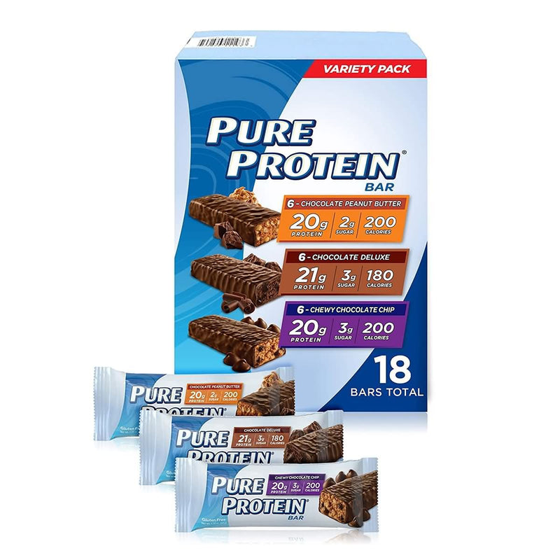 Pure Protein Bars Nutritious Snacks