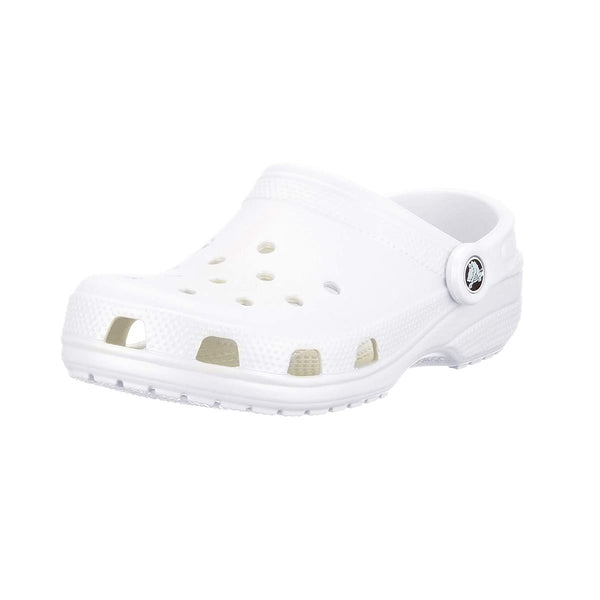 Crocs Classic Clog Water Comfortable White Slip on Shoes