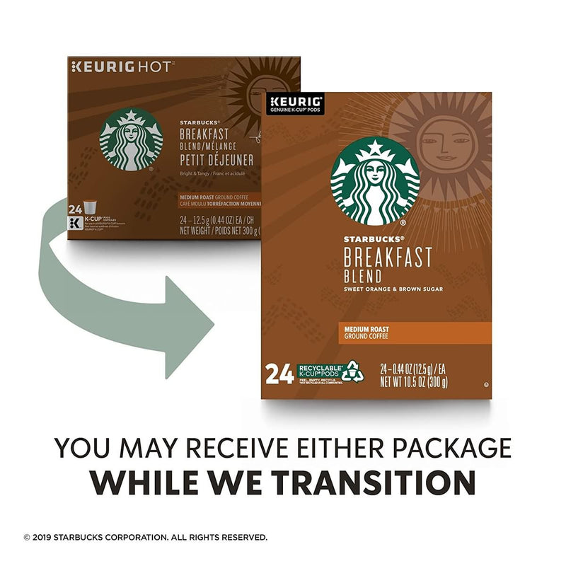 Starbucks Medium Roast K-Cup Coffee Pods