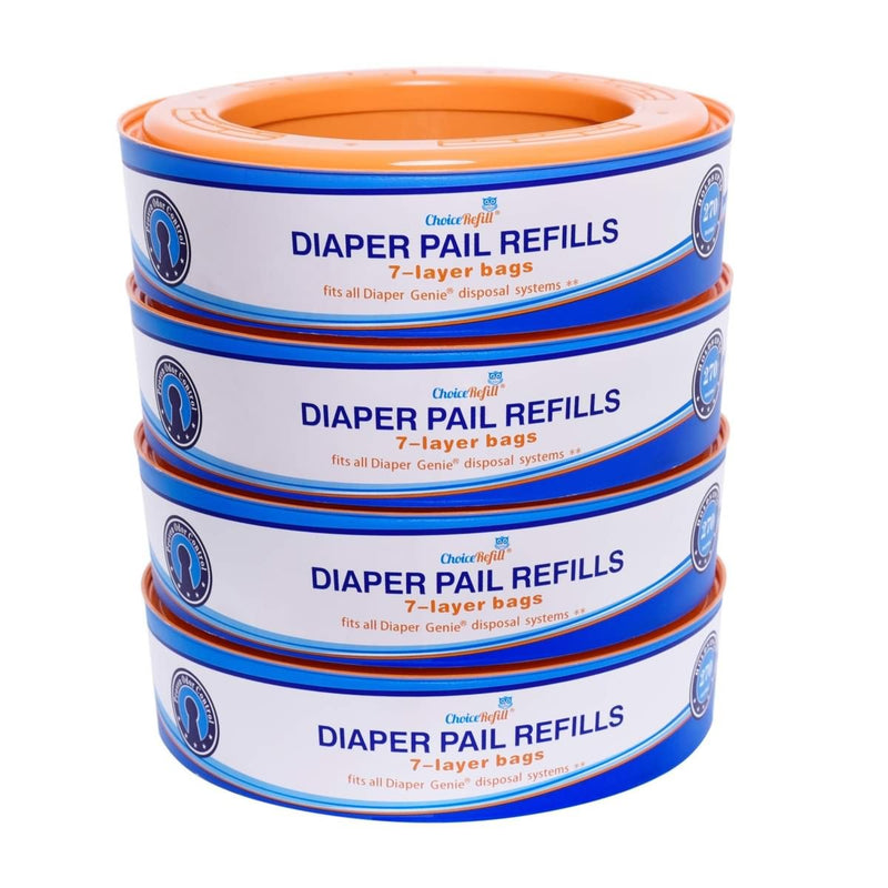 ChoiceRefill Compatible with Diaper Genie Pails