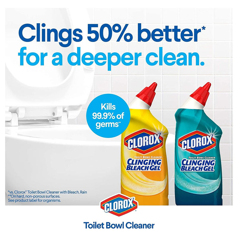 Clorox Toilet Bowl Cleaner With Bleach Variety Pack