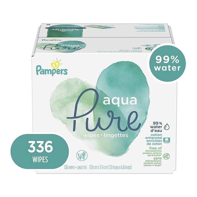 Pampers Aqua Pure Sensitive Water Baby Diaper Wipes