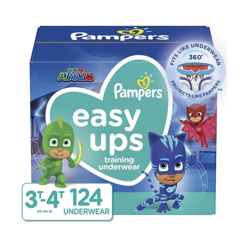 Pampers Easy Ups Pull On Disposable Potty Training Underwear for Boys and Girls