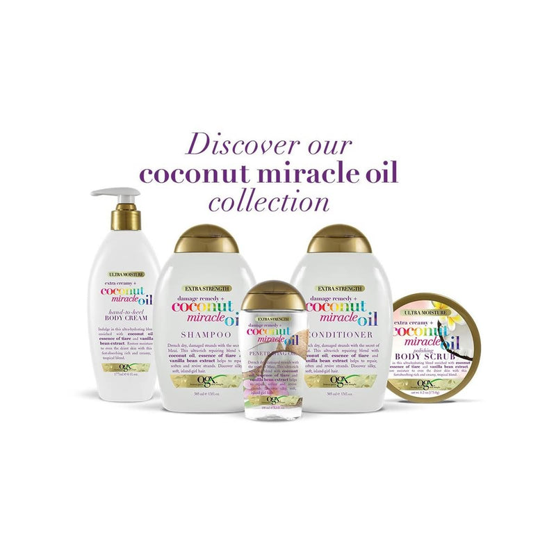 OGX Extra Creamy + Coconut Miracle Oil Hand-to-Heel Body Cream