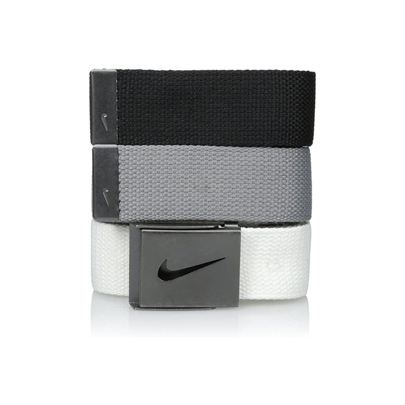 Nike mens 3 Pack Golf Web Belt
