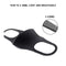 Pansonite Unisex 3pcs Anti Pollution Dust Mask