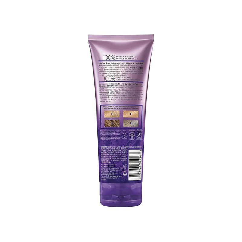 L'Oreal Paris Hair Care EverPure Sulfate Free Brass Toning Purple Conditioner