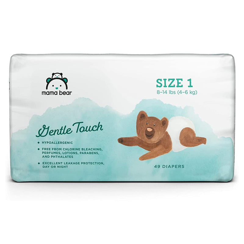 Amazon Brand - Mama Bear Gentle Touch Diapers